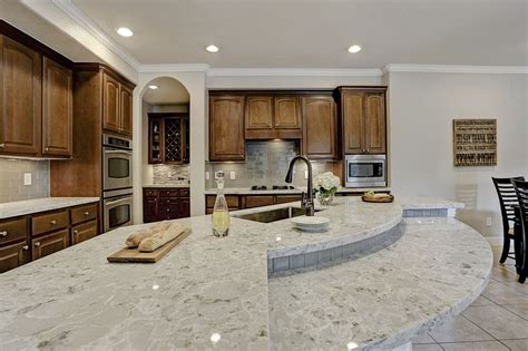 allen and roth kitchen cabinets reviews titanium swell from the allen roth quartz collection