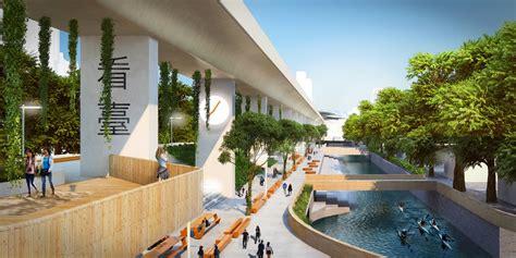 taichung green corridor  taiwan  architect