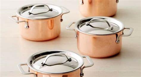 williams sonoma mini copper cocottes set   kitchenware pinterest mini copper kitchen