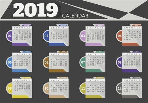 descargar templates illustrator gratis calendarios en vector 2019 para descargar gratis illustrator