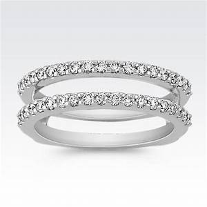 double band diamond rings wedding promise diamond With double wedding rings