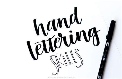 hand lettering 12 skillshare classes that improve lettering skills printable crush
