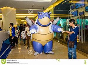 editorial stock image pokemon day bangkok thailand siam paragon department store january siam paragan department store image