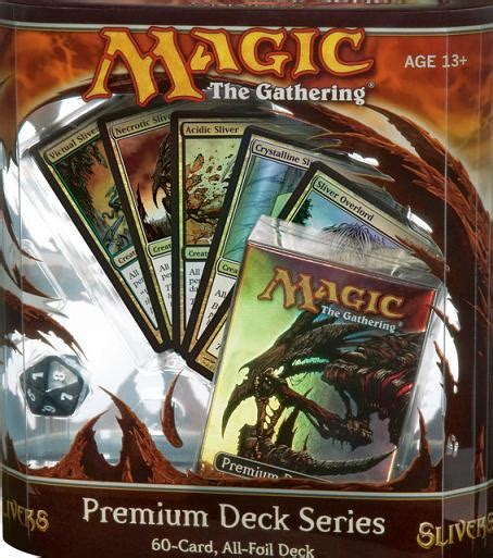 premium deck series slivers spoiler and decklist