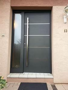 Porte Entree Aluminium Clever Menuiserie