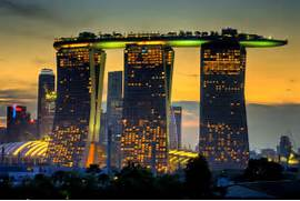 Singapore Hotel With Infinity Pool On Rooftop Image Tai Wiki Widbee Marina Bay Sands Resort Hotel Singapore