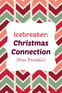 christmas ice breakers work retreat on breakers