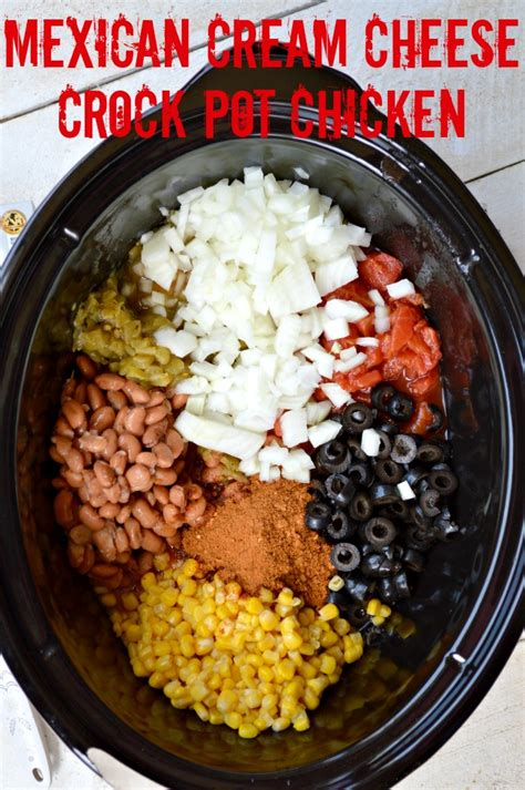 mexican crock pot recipes mexican cream cheese crock pot chicken gonna want seconds