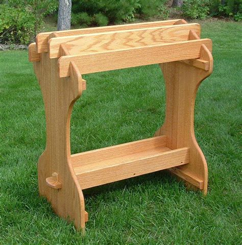 hand crafted saddle stand  amish outdoor furniture