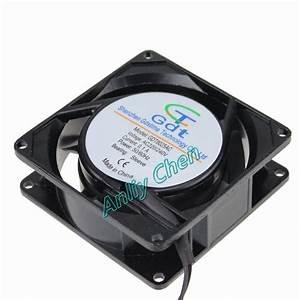 2 Pcs Lot 8025 Gdstime Ac 220v 240v 2 Wire Cooler 8cm