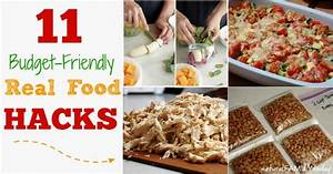 11 Budget-Friendly Real Food Hacks - Natural Family Today
