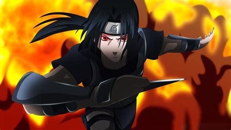 Download Anime Uchiha Itachi Naruto Wallpaper 1920x1080