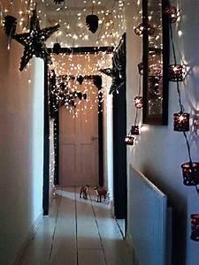 Bed Decoration Lights Top 30 Indoor Christmas Lights Decoration Ideas