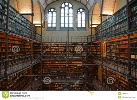 Amsterdam Museum Famous by Library Amsterdam Historical Museum Famous Stock Photo