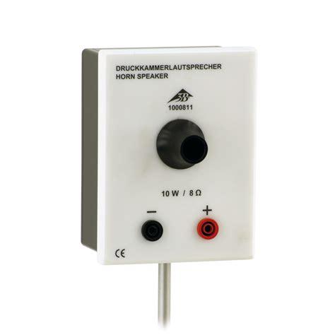 chambre de d馗ompression haut parleur à chambre de compression 1000811 u8432680 sons 3b scientific