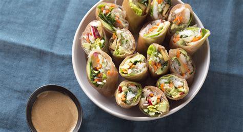Shrimp Kelp Noodle Spring Rolls Recipe Thrive Market