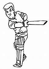 Cricket Coloring Pages Colouring Sport Sheets Batter Clipart Animated Cartoon Sports Activity Batsman Colour Activities Clip Library Kidspot Craft Cheerleading sketch template