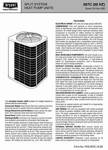 Bryant Split System 697c Users Manual