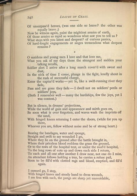 walt whitman the wound dresser poem analysis the wound dresser leaves of grass 1881 82 the walt