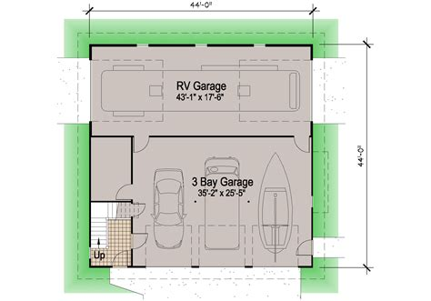 small floor plans cottages shingle rv garage 39 39 motor home southern cottages