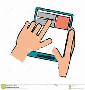 Tablette Lumineuse Dessin : tablette tactile dessin coloriage informatique imprimer ~ Nature-et-papiers.com Idées de Décoration
