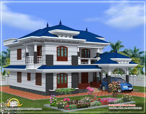 beautiful kerala home design  sqft kerala home