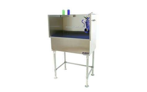 groomers tub direct s leak free never warp stainless steel