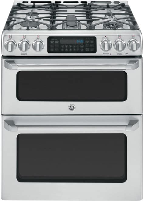ge cgs990setss 30 inch slide in caf 233 series oven gas range with precise simmer burner