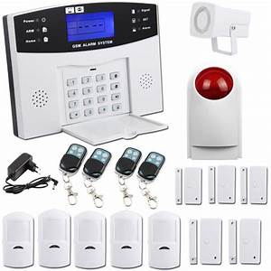 Alarme Maison Pas Cher : sungle kit alarme maison sans fil auto appel t l phonique ~ Dailycaller-alerts.com Idées de Décoration