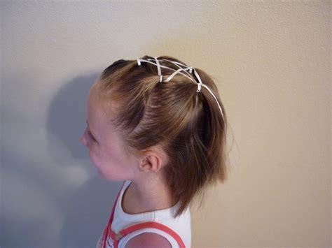 ribbon star hairstyle hairstyles  girls princess
