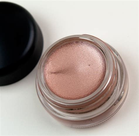mac cham pale paint pots review photos swatches chilled on dangerous cuvee let me pop