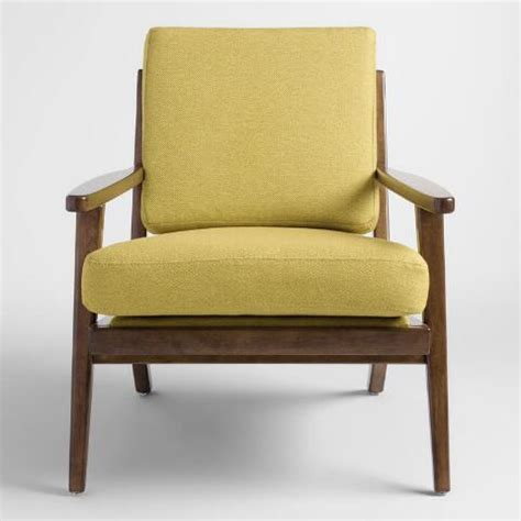 Lime Green Armchair by Muted Lime Green Xander Armchair World Market