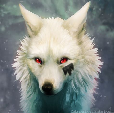 white wolf by zakraart deviantart on deviantart animal 1 in 2019 wolf painting
