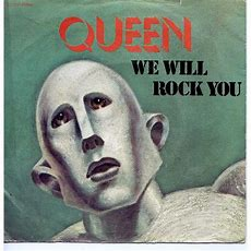 We Are The Champions  We Will Rock You By Queen, Sp With Grigo Ref2300297938