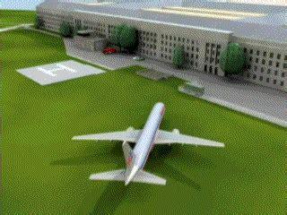 gif maniac images animees avion crash