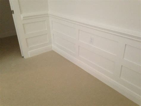 height   chair rail  wainscoting