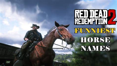 horse dead redemption names