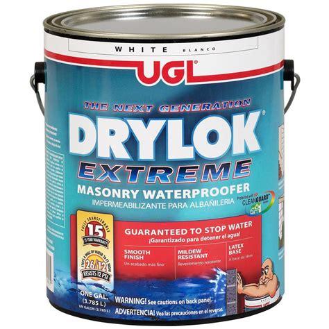 ugl 1 gal white drylok waterproofer 209100 the