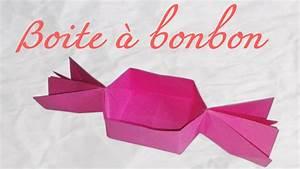 Comment Faire Une Boite En Origami : origami bo te en forme de bonbon youtube ~ Dallasstarsshop.com Idées de Décoration