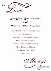 templates how to write a wedding invitations plus w on With wedding invitation template what to write