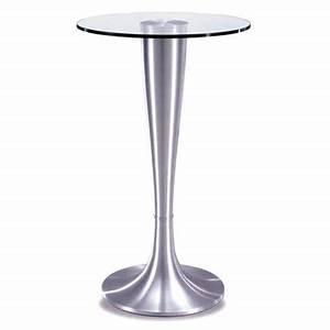 Table Haute En Verre : prix sur demande ~ Teatrodelosmanantiales.com Idées de Décoration
