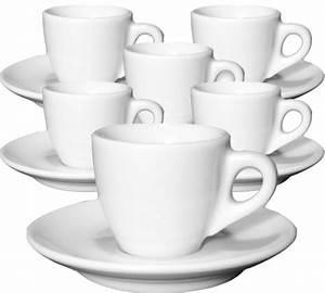 Tasse à Thé : 6 tasses et sous tasses espresso porcelaine ~ Teatrodelosmanantiales.com Idées de Décoration