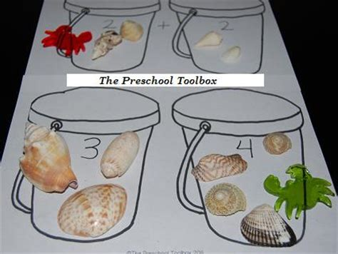 sand pail counting activities the preschool toolbox 639 | Beach Theme Pics 002