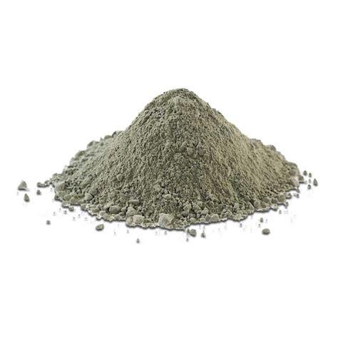 argile verte naturelle en poudre en vrac pour masque maison