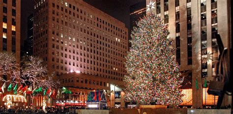 nyc tree lighting 2016 rockefeller center christmas tree tree lighting ceremony
