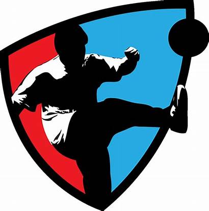 Kickball Clipart Young Silhouette Clip Dodgeball Leagues