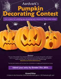Pumpkin Decorating Contest Rules by 301 Moved Permanently