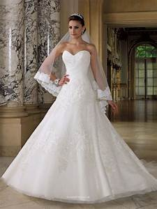 Sweetheart strapless wedding dress uk with embroidered for Wedding dresses uk
