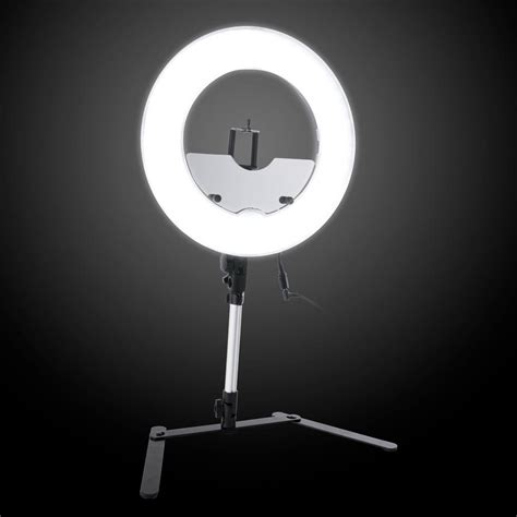 ring light with stand 13 5 inch desktop dimmable led vanity studio ring light