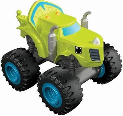 Blaze Monster Machines Zeg Truck Vehicle